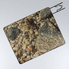 Rocks and Peebles Picnic Blanket