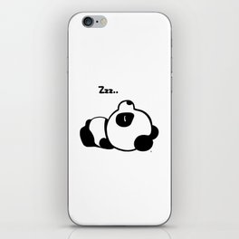 Sleeping Baby Panda Kawaii AWWW! iPhone Skin