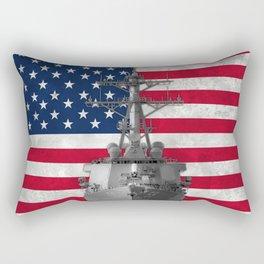 Arleigh Burke Destroyer Rectangular Pillow