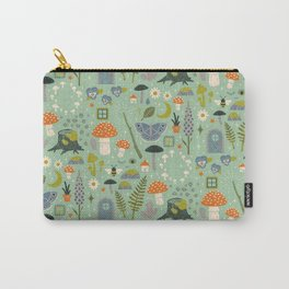 Fairy Garden Carry-All Pouch