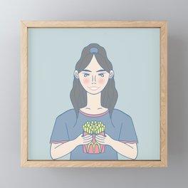 Mc.D Fries Framed Mini Art Print