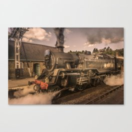 Whitby Express Canvas Print