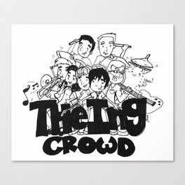 The Ing Crowd! Canvas Print