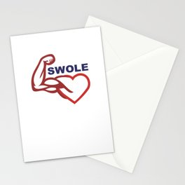 swole- Stationery Cards