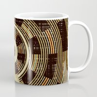 record Mugs featuring Record by Tammy Kushnir
