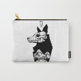 Black Wolf Mountain Carry-All Pouch
