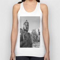 buddah Tank Tops featuring Buddah by Nicolette Hand