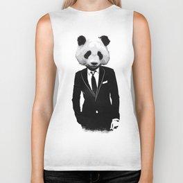 Panda Suit Biker Tank