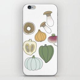 Vegetables (color) iPhone Skin