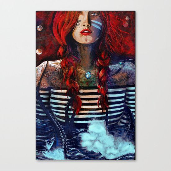 NEIRED (TWO) Canvas Print