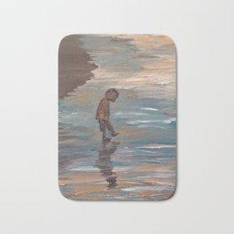 Kid in the Water Bath Mat