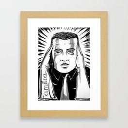 It make us deaf Framed Art Print