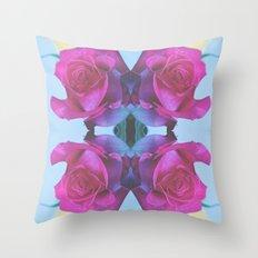Summer Roses 2012 Throw Pillow