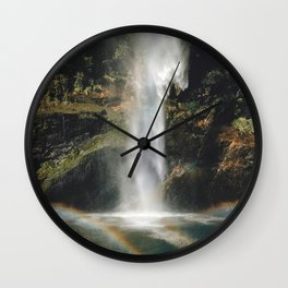 Feel the Water Fall Wall Clock