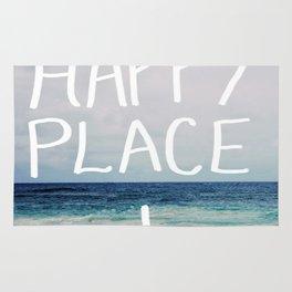 My Happy Place (Beach) Rug