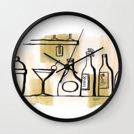 Liqueur Wall Clock