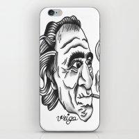 bukowski iPhone & iPod Skins featuring Bukowski by @VEIGATATTOOER