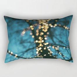 Bokeh tree. Rectangular Pillow
