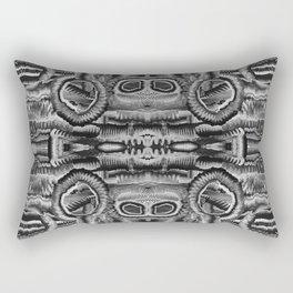 Life Cycle BW1 Rectangular Pillow