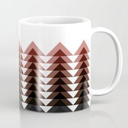 Brown Triangle Tree Coffee Mug