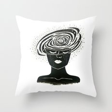 you are the universe. Throw Pillow