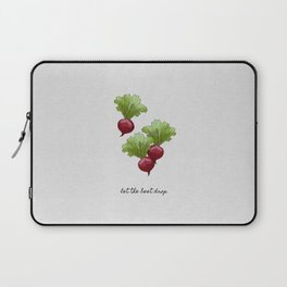 Let The Beet Drop Laptop Sleeve