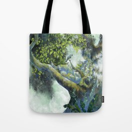 Hiding in the leaves Tote Bag