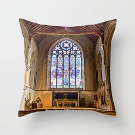 St Thomas Winchelsea Throw Pillow