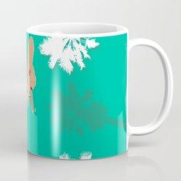 LA Palm Tree Hand Sign Coffee Mug