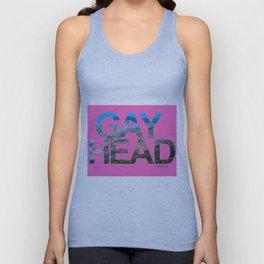 Gay Head Martha's Vineyard in Hot Pink Unisex Tank Top