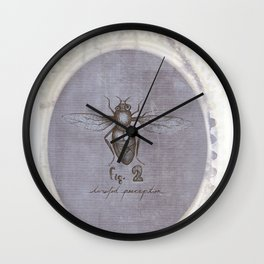 Twisted Perception  Wall Clock