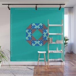 "CA Fantasy ""For Tiffany color"" series #4 Wall Mural"