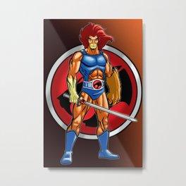 Lion Thundercats Metal Print