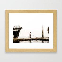 ~Conner~ Framed Art Print