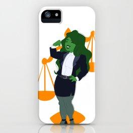 Judge, Jury, and Executioner iPhone Case