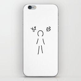 conscience iPhone Skin