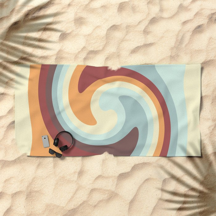 Abstract 377 Beach Towel
