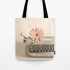 Soft Typewriter (Retro and Vintage Still Life Photography) Tote Bag