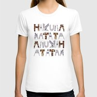 hakuna T-shirts featuring ANUKAH Atatam (two)  by Vasare Nar