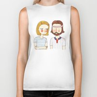 nan lawson Biker Tanks featuring Secretly In Love by Nan Lawson