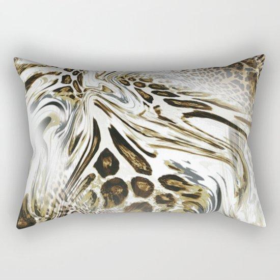 Trend Leopard Pattern Rectangular Pillow