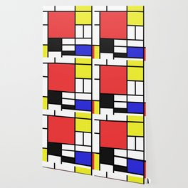 Mondrian Wallpaper