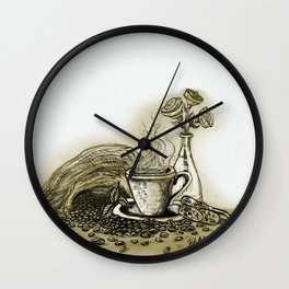 CoffeeCoffee Wall Clock