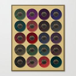 Recordalings 1 Canvas Print
