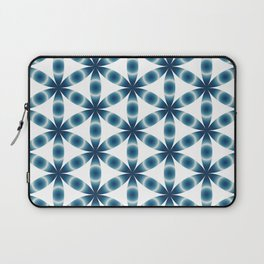 Blue seed of life pattern Laptop Sleeve