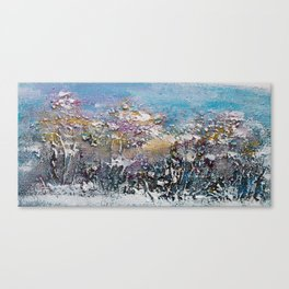 Winnipeg Park in Winter Canvas Print