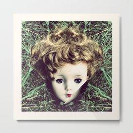Doll remembering her dreams Metal Print