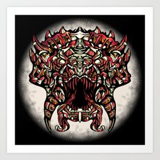 Yay Rubies!! Art Print