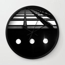 Industrial Beams Wall Clock