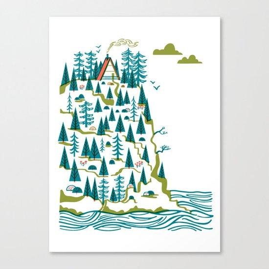 Big Sur A-Frame Canvas Print